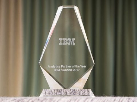 Attollo årets vinnare av IBM Analytics Partner of the Year!